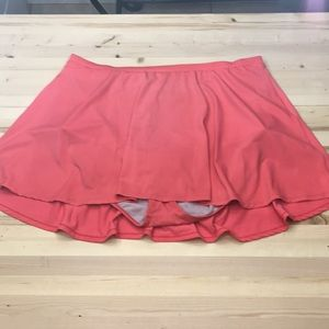 Torrid pink bathing suit bottoms with skirt sz 3XL